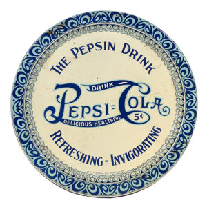 Lot 101). Scarce Pepsi-Cola Tip Tray