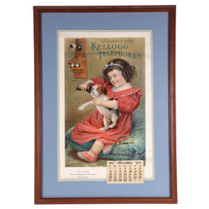 Lot 12). Kellogg Telephones Calendar