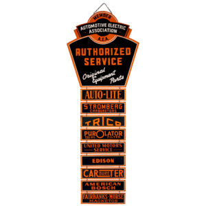 Lot 15). A.E.A. Service Station Sign