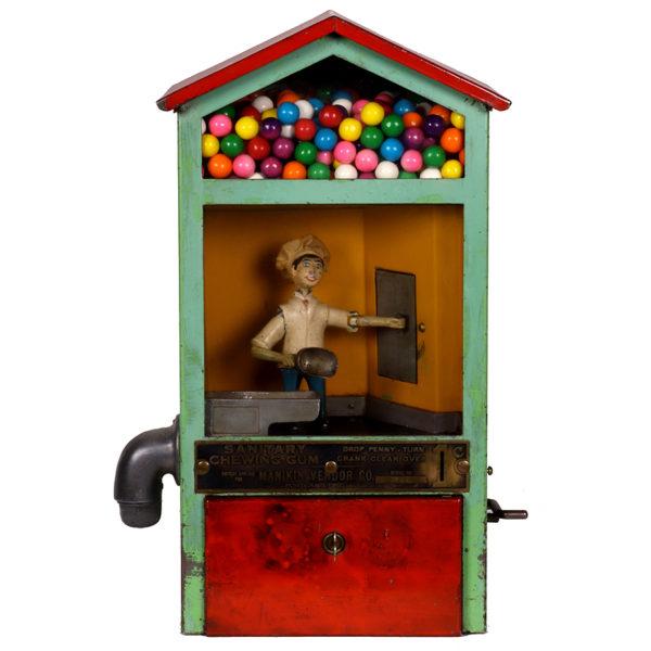 Lot 34). Baker Boy Gum Machine