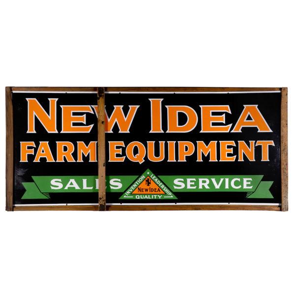 Lot 49). Porcelain Farm Equipment Sign
