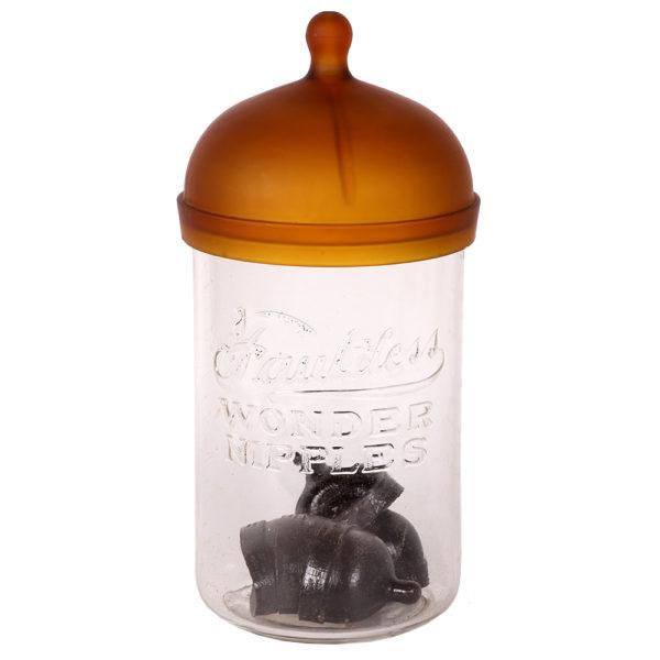 Lot 56). Faultless Nipples Jar