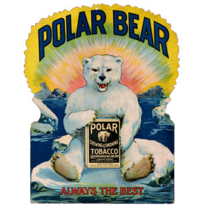 Lot 58). Polar Bear Sign