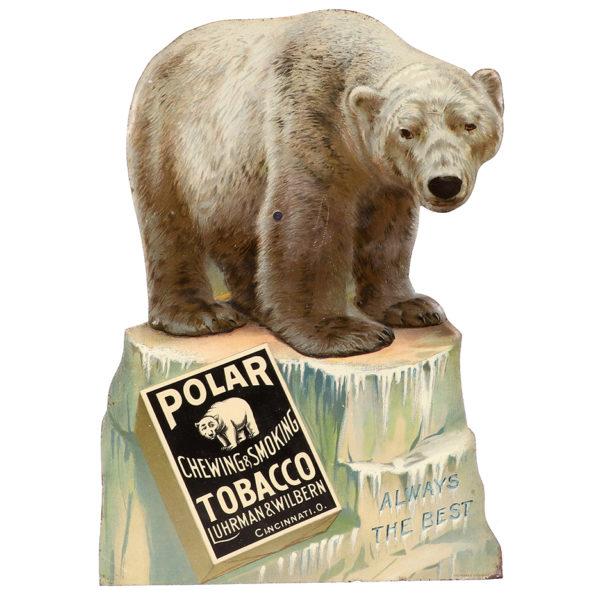 Lot 70). Polar Tobacco Sign