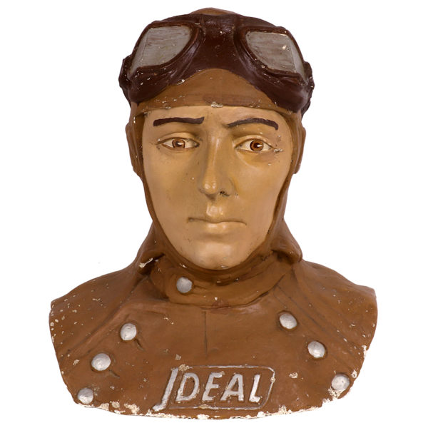Lot 72). Ideal Goggles Display Figure