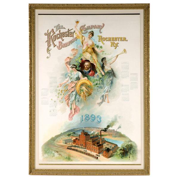 Lot 73). Rochester Brewing Co. Calendar