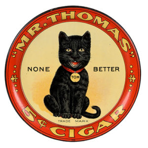 Lot 81). Mr. Thomas Cigars Tip Tray