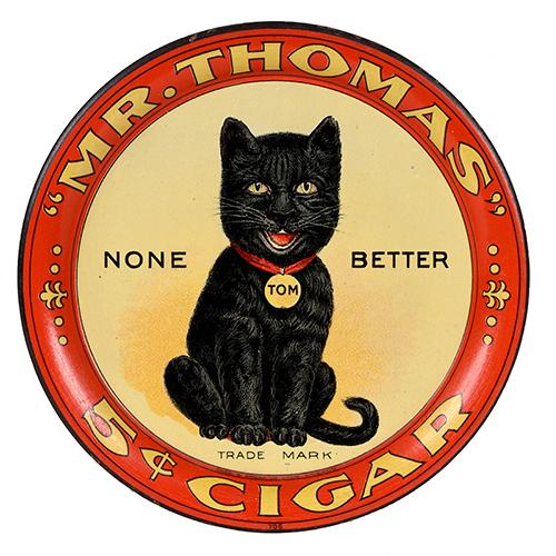 Lot 81). Mr. Thomas Cigars Tip Tray