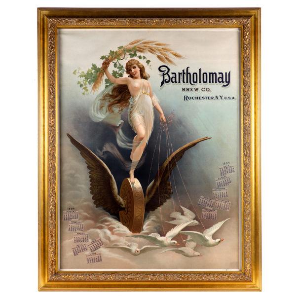 Lot 85). Bartholomay Brewing Co. 1894 Calendar