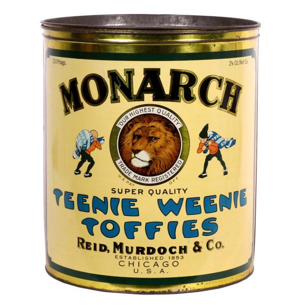Lot 9). Monarch Candy Store Bin