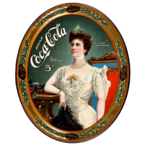 Lot 93). 1905 Coca-Cola Serving Tray