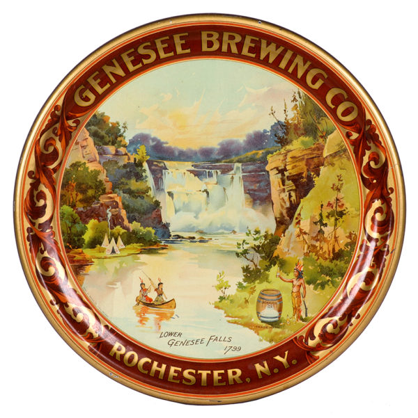 Lot 97). Genesee Brewing Co. Tray